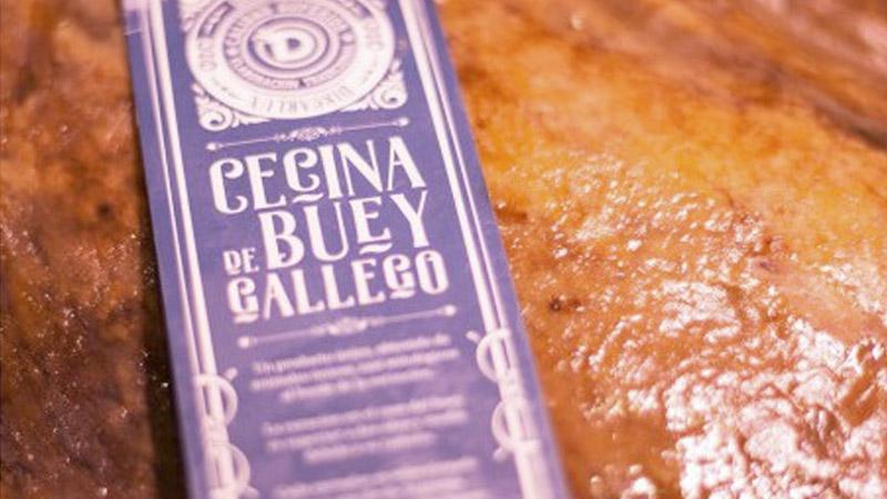 Cecina de Buey Gallego Discarlux, una auténtica joya de la gastronomía