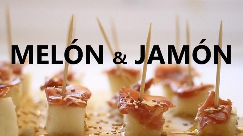 Recetas Gourmet: Jamón Ibérico con melón, rápido y delicioso