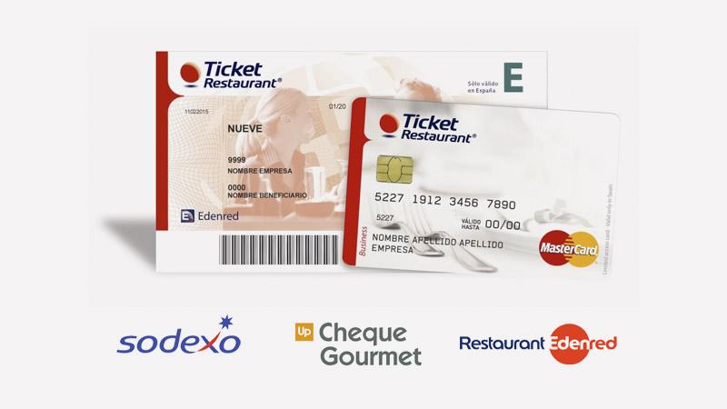 Pago con cheque y ticket restaurant online y en tienda Las Rozas